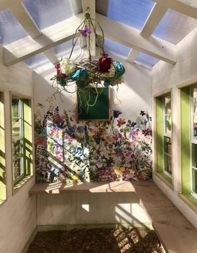 Custom Greenhouse Interior