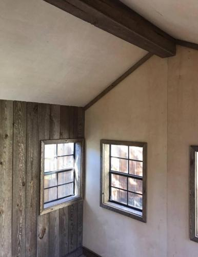 Custom Barn Playhouse Interior
