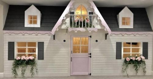 Custom Interior Playhouse in The Preserve